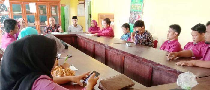 Ka.KanKemenag Kabupaten Tebo Lakukan Kunjungan Ke MTsN 5